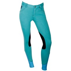 Harry's Horse Children's Breeches Loulou Bristol Turquoise 140