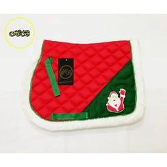 HB Saddle Christmas Santa Claus