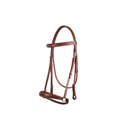 QHP Bridle luxury low noseband