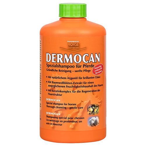 Pharmaka Dermocan Shampoo voor paard 1L