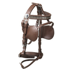 Kieffer Driving Bridle leather pony