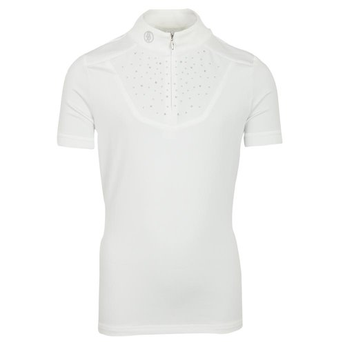 BR BR Competition Shirt Wicklow short sleeve white