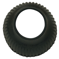 Sprenger gesloten springschoen rubber zwart (IJslanders)