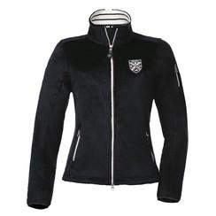 Equi-Thème men polar fleece jacket with long fibers