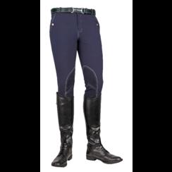 Gentlemen HKM Breeches dark blue Vera Classic Alos knee level