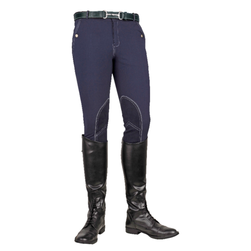 HKM Gentlemen HKM Breeches dark blue Vera Classic Alos knee level