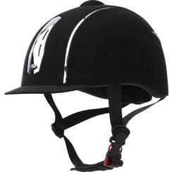 Choplin helm Aero Chrome Noir verstelbaar