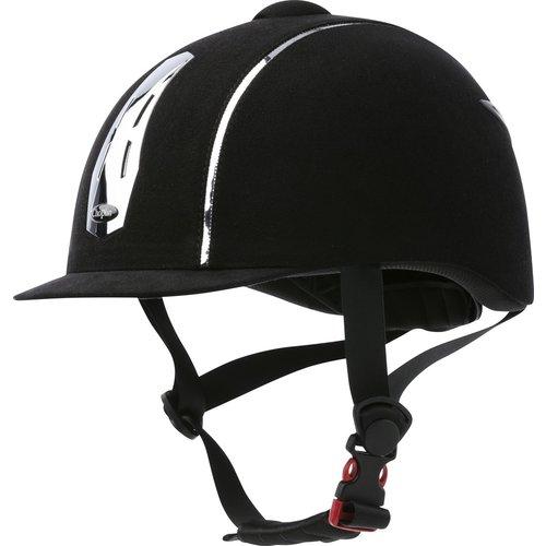 Ekkia Ekkia Choplin helm Aero Chrome Noir verstelbaar