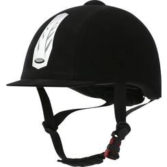 Choplin helm Aero Regular verstelbaar zilver front