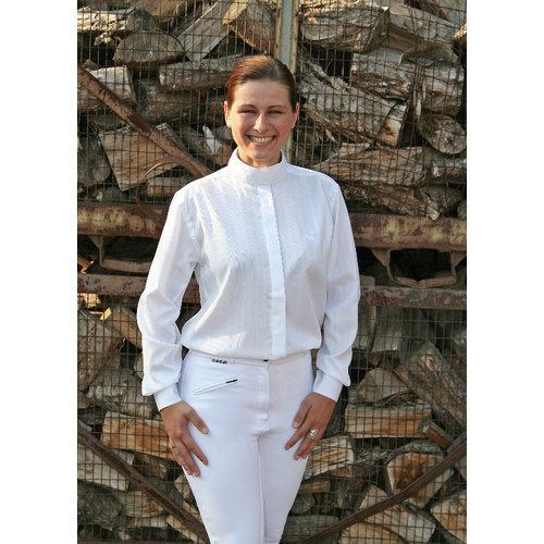 Harry's Horse Harry's Horse race Dobby long sleeve blouse