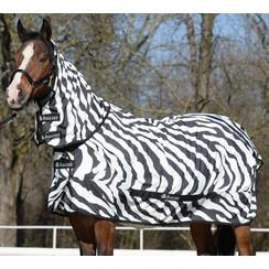 Bucas Sommerekzem Juckreiz Decke Zebra