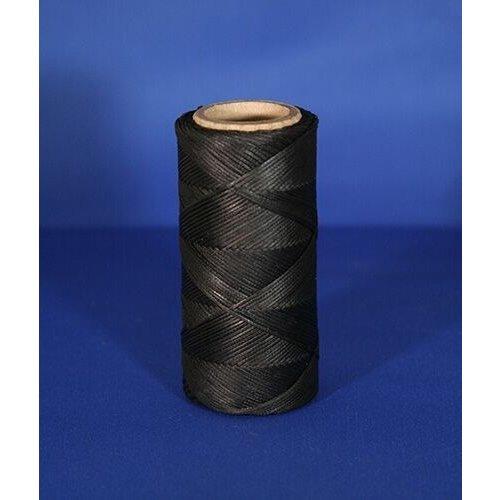HB (handelsonderneming H. Bammens) HB Pektouw, black braid yarn