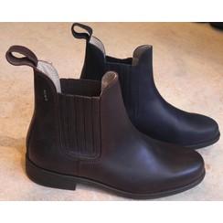 Ruiter Gilde Boomerang black leather jodhpur