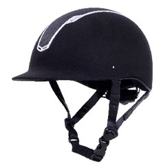 HKM riding helmet black Graz