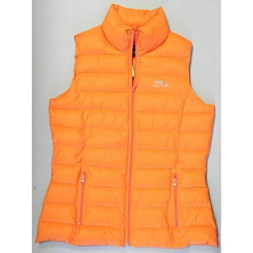 HKM HKM Super lichte Bodywarmer Orange maat 176