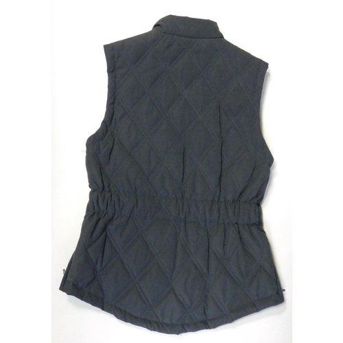 HKM HKM Waistcoat dark blue with rijsplitjes