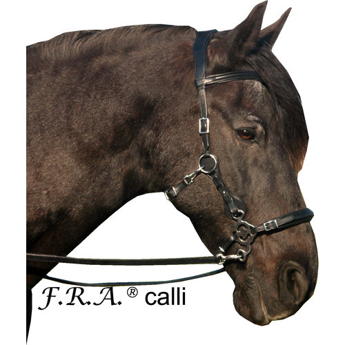 F.R.A. Freedom Riding Articles F.R.A. Calli Hackamore bridle (System 2)