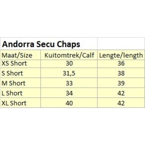 Kieffer Kieffer SECU Chaps Andorra Brown