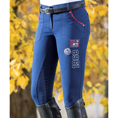 HKM Breeches Ladies Performance denim with silicone buttocks