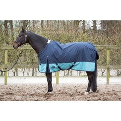 Harry's Horse Regendeken Wodan fleecelining 0gr. Midnight-navy