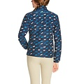 Ariat Ariat Laurel Multi Jacket navy horse print for youth
