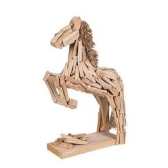 Beeldje paard in sprong 30 x 18 x 9 cm