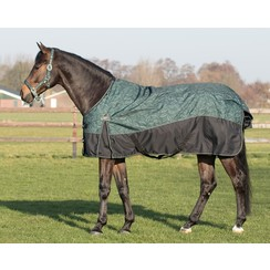 QHP Turnout Rug Collection 150gr Leaves