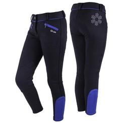 QHP Breeches Junior Black Ice