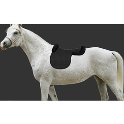 Mattes saddle cloth fur trim and rear