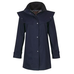 Jack Murphy ladies raincoat quarters L Cotswold Navy