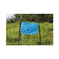 HB Saddle Pad Sparkling Glitter Blue Sea Shet