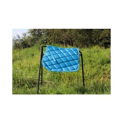 HB (handelsonderneming H. Bammens) HB Sattelpad funkelnden Glitter Blue Sea