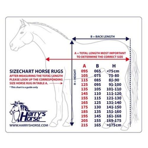 Harry's Horse Harry's Horse Staldeken Highliner 200 gr Ensign-blue