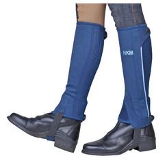 HKM Minichaps blau Größe 6 t / m 12