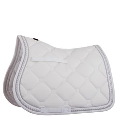BR Saddle pad Sublime white