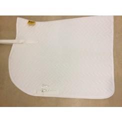Kavalkade Saddle pad white