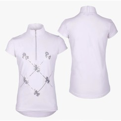 QHP Competitionshirt Lana Junior White