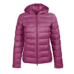 HKM Quilted Jacket lena Cranberry