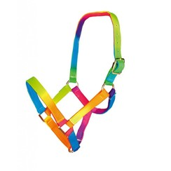 HKM Shetty Nylonhalfter Multicolor