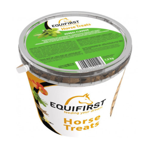 Duo Protection Equifirst  Pferd treats Herbal 1,5 Kilo