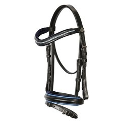 Harry's Horse Bridle STOUT! Blue