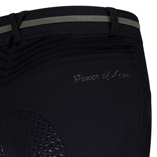 Euro-star Easy Rider Breeches Maria FullGrip Ladies in Black and Navy