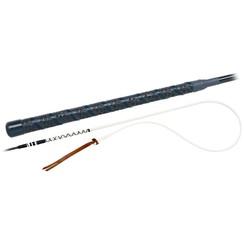 Fleck Boogzweep carbonvezel lichtgewicht leren klapkoord 140, 160 en 180 cm lang.