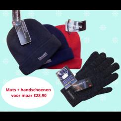 Thinsulate Warme Mütze und Handschuhe