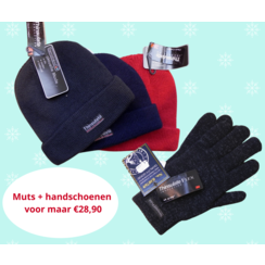 Thinsulate Warme muts en handschoenen