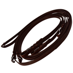 LD Brown Leather Reins Pair Achenbach