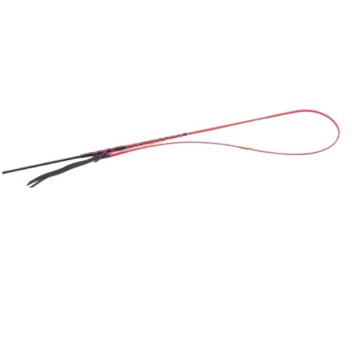 Fleck Fleck PU-Contact-grip, spun lash with leather thong