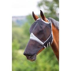 Shires Vliegenkap met neus en uitsparing voor de oren