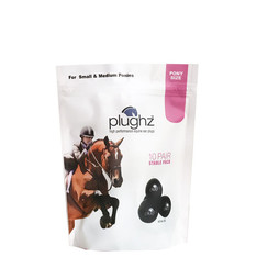 Plughz Earplugs Pony and Cob 10 Pairs