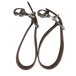 Kieffer Drawbar Belts leather with quick release